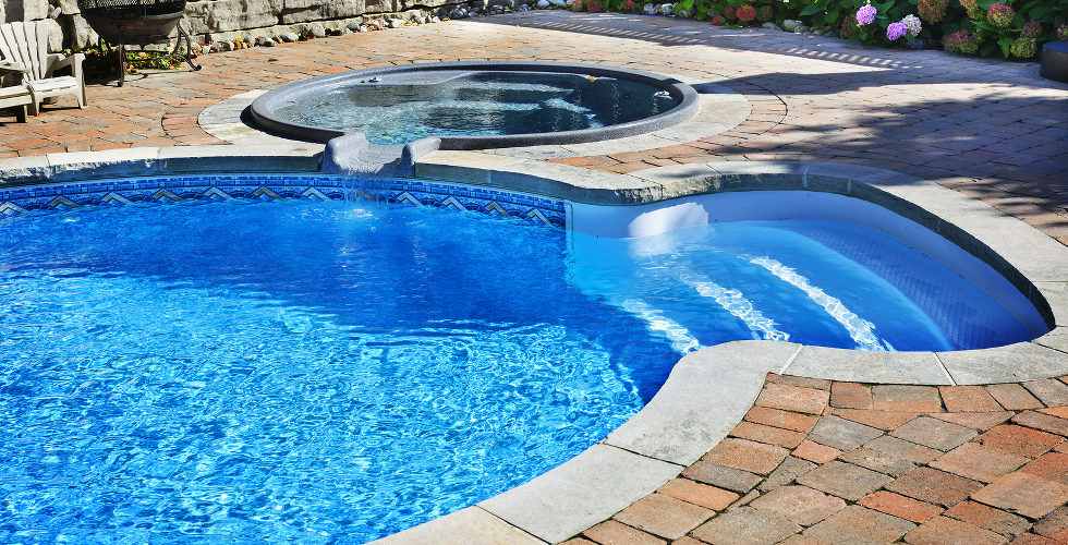 EZ Aqua Fiberglass Pool